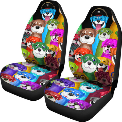 Rottweiler Car Seat Covers Ja15ND