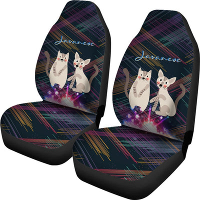 Javanese Cat Car Seat Covers Ja22VA