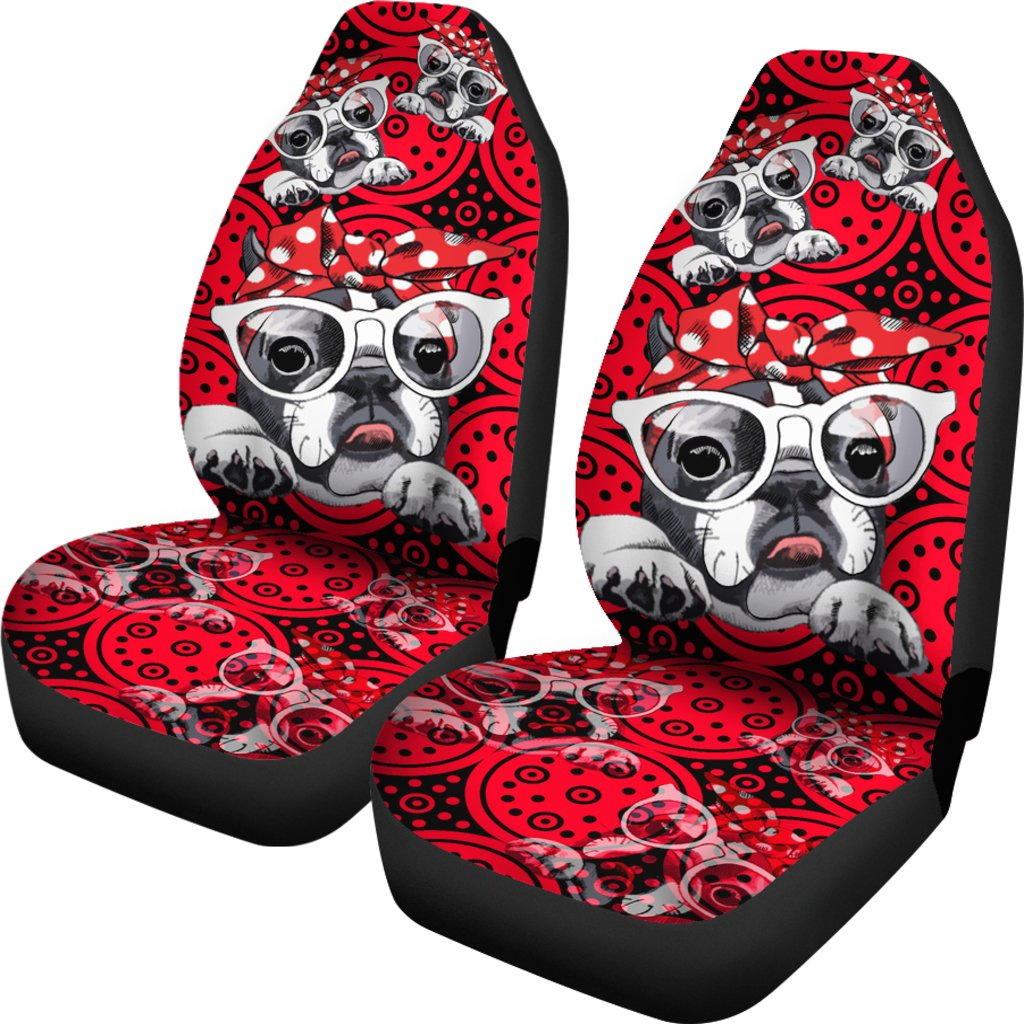 French Bulldog Car Seat Covers 2802th Ottedesigns
