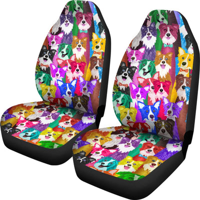 Border Collie Car Seat Covers 2501PM