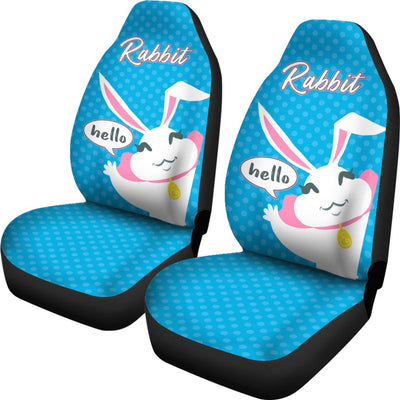 Rabbit Car Seat Covers Ja22ND2