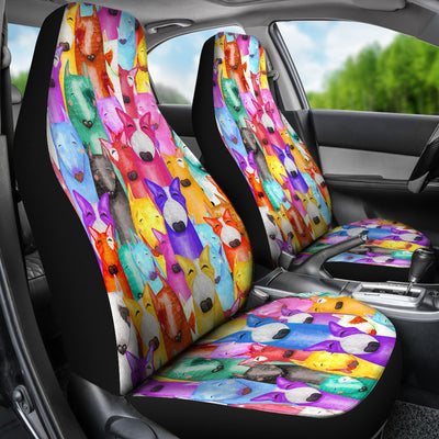 Bull Terrier Car Seat Covers 2501PM