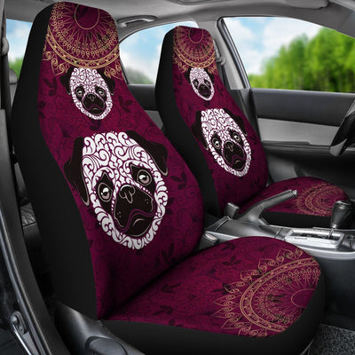 Pug Car Seat Covers Ja31TP