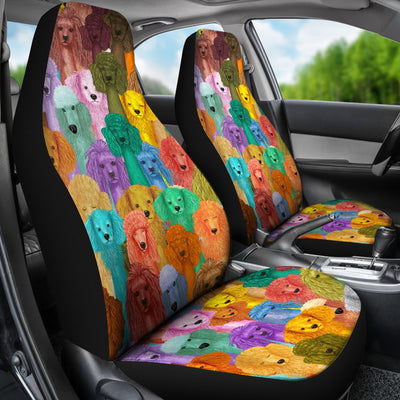 Poodle Car Seat Covers 2501PM