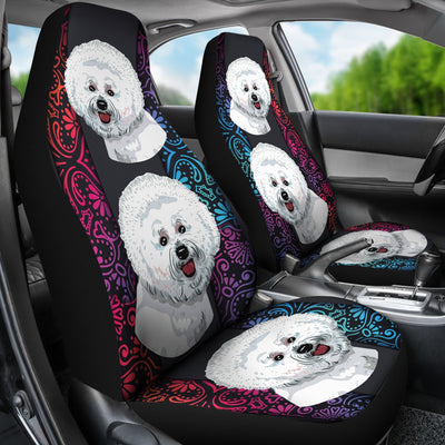 Bichon Car Seat Covers 0602PM-SCDL