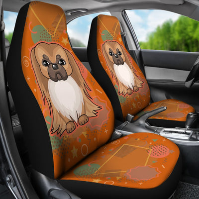 Pekingese Car Seat Covers ND1901