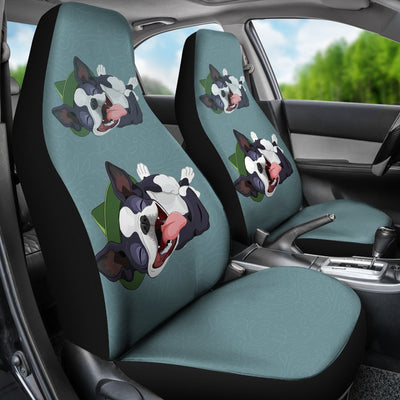 Boston Terrier Car Seat Covers Ja19VA