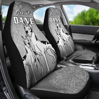 Great Dane Car Seat Covers Ja20ND