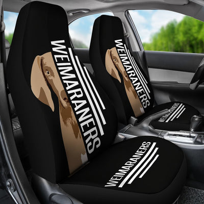 Weimaraner Car Seat Covers Ja24DL