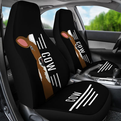 Cow Car Seat Covers Ja24PM