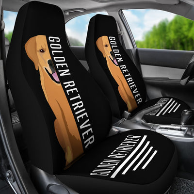 Golden Retriever Car Seat Covers Ja24PM