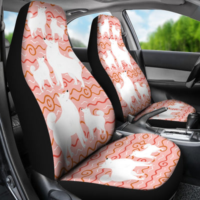 Samoyed Car Seat Covers Ja24pt
