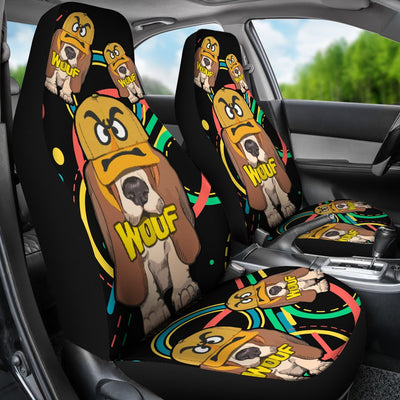 Basset Hound Car Seat Covers 0102TH