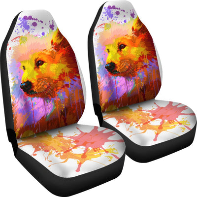 Samoyed Car Seat Covers Ja16DN