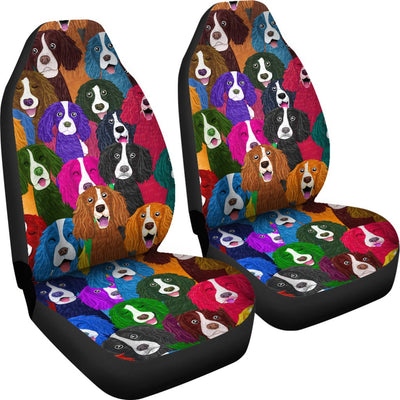 English Springer Car Seat Covers 2501PM