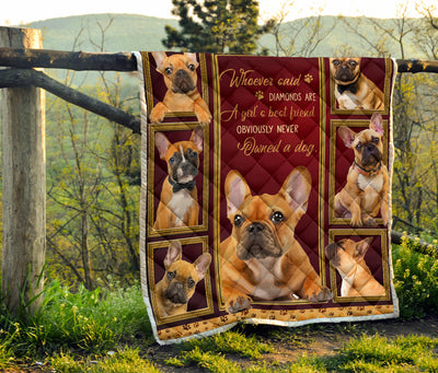 Frenchie Bulldog Never Quilt