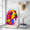 Beagle Matte Canvas Print, Canvas Wall Art for Living Room, Bathroom Wall Decor, Water Color 30B