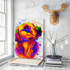 Labrador 2 Matte Canvas Print, Canvas Wall Art for Living Room, Bathroom Wall Decor, Water Color 31B