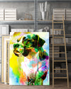 Boxer 3 Matte Canvas Print, Canvas Wall Art for Living Room, Bathroom Wall Decor, Color TT 13TA