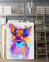 Chihuahua 2 Matte Canvas Print, Canvas Wall Art for Living Room, Bathroom Wall Decor, Color TT 14TA