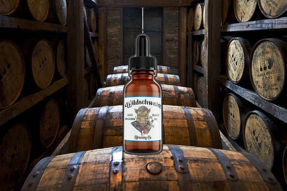 Aged Bourbon Beard Oil