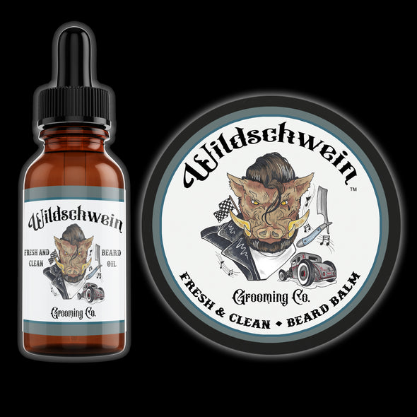 Fresh and Clean Balm & Oil Combo