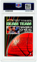 Load image into Gallery viewer, SHAQUILLE O'NEAL 1992 Stadium Club #21 Beam Team PSA 10 GEM MINT ROOKIE Card RC