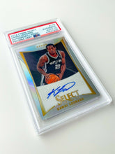 Load image into Gallery viewer, KAWHI LEONARD 2012 Panini Select #178 AUTOGRAPH SILVER PRIZM PSA Rookie Card RC