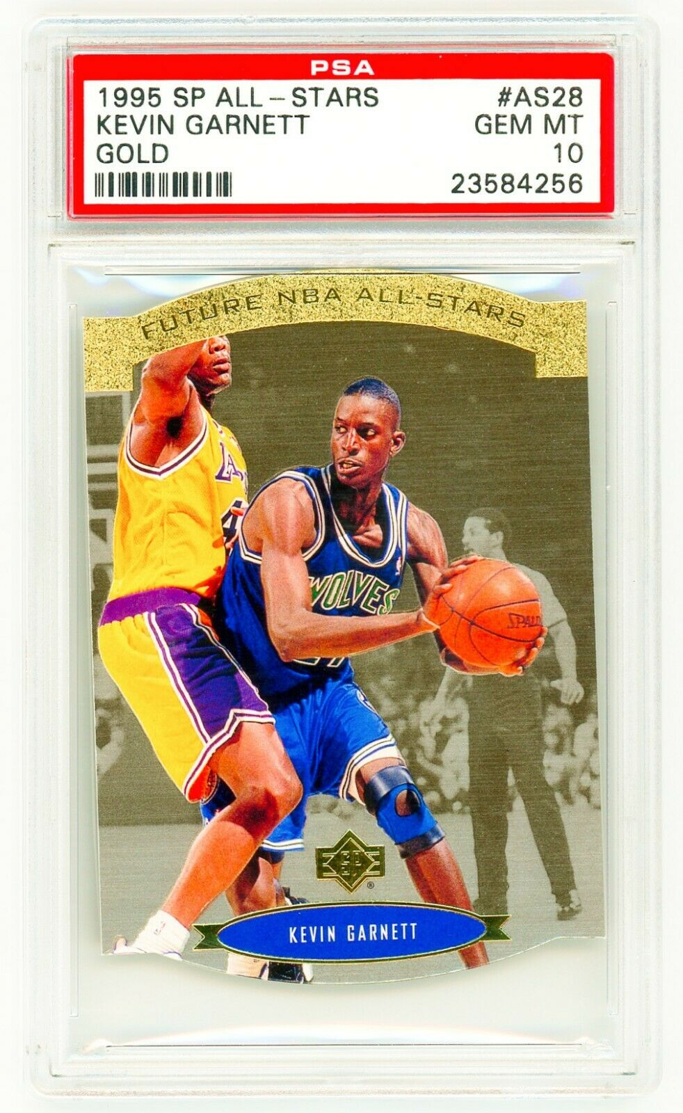 KEVIN GARNETT 1995 Upper Deck SP ALL-STAR AS28 GOLD PSA 10 ROOKIE CARD