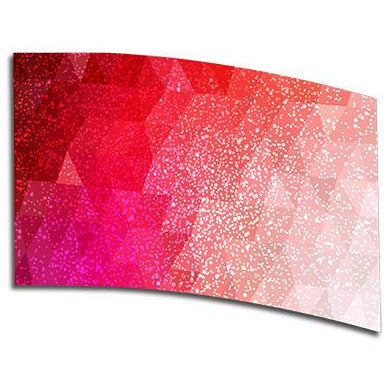 Ruby Speckled Ombre - Motion In Ink
