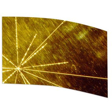 Abstract Golden Star - Motion In Ink