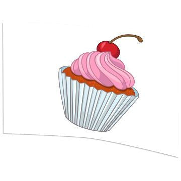 Cup Cake - Motion In Ink