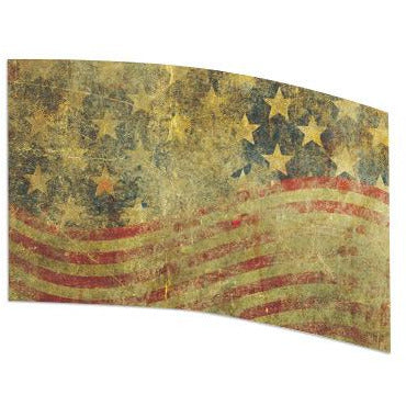 American Flag Distressed - Motion In Ink