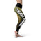 Black Gold Color Guard Legging - Motion In Ink