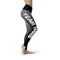 Black Grey Color Guard Legging - Motion In Ink