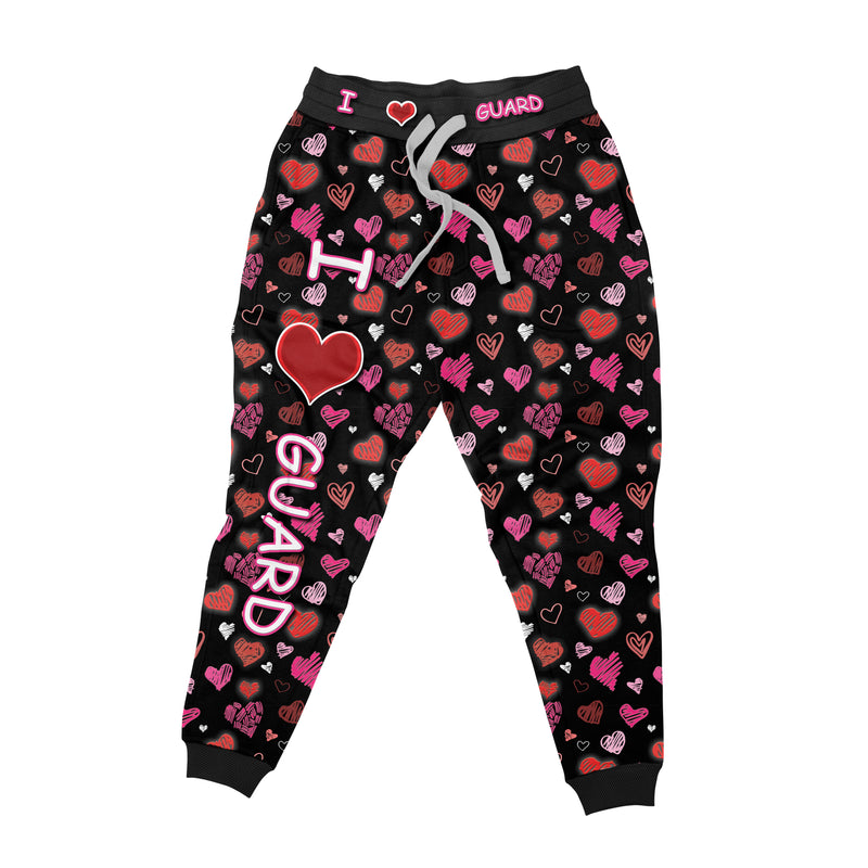 I Love Guard Unisex Jogger - Motion In Ink
