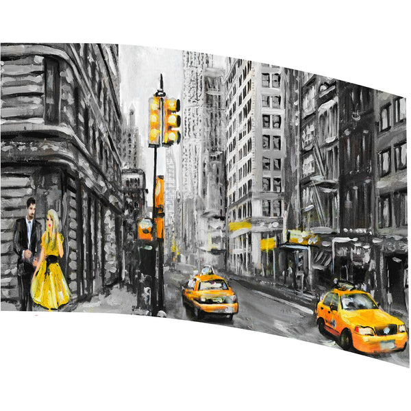 Yellow New York - Motion In Ink