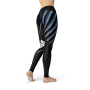 Distressed Color Guard Legging - Motion In Ink