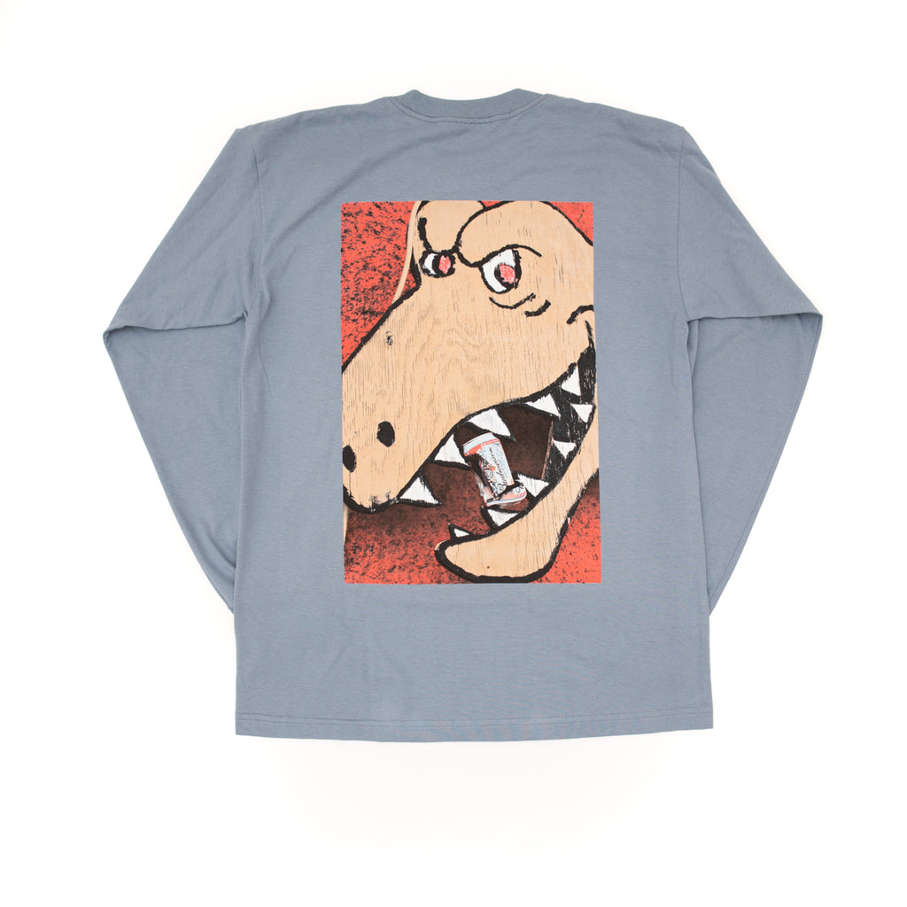 T Rex Crush Long Sleeve - Pale Blue