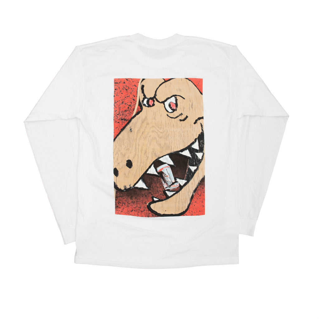 T Rex Crush Long Sleeve - White