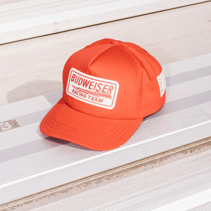 BUD RACING CAP RED