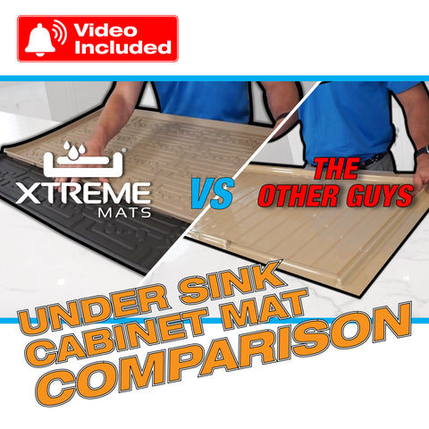 Under Sink Cabinet Mat Buyer's Guide: Features, Benefits, Pros and Cons (With Videos)