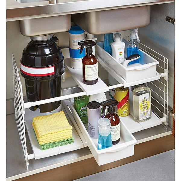 Under Sink Organization Ideas for Stress-Free Living