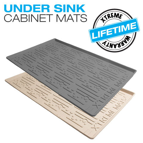 under sink cabinet mats for rv camper trailer protection and organization