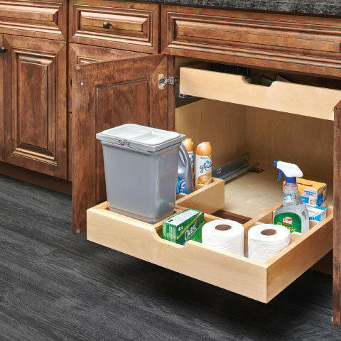 U shaped pull out drawer shelf for cabinet organization whole slide out cabinet tray rev a shelf