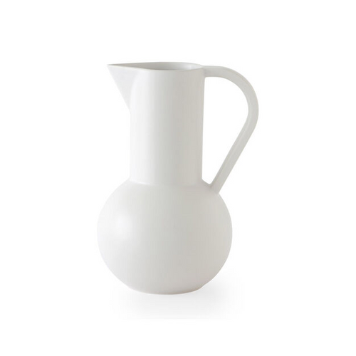 Raawii Strøm Jug - Small - Vaporous Gray / Off-White