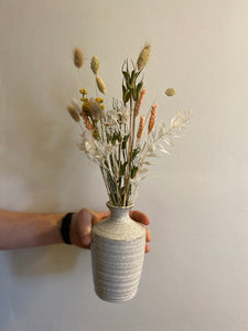 Rustic Dried Arrangement in Bud Vase