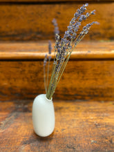 Load image into Gallery viewer, Dried Lavender in Kinto SACCO Porcelain Vase (White)