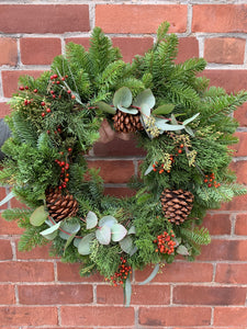 20-inch Deluxe Holiday Wreath