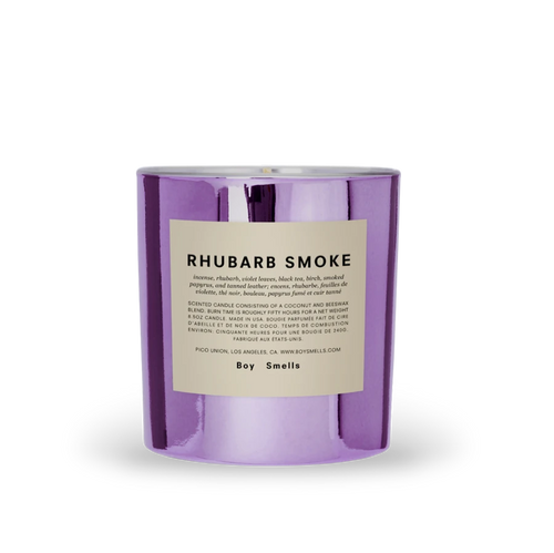 Boy Smells RHUBARB SMOKE Candle